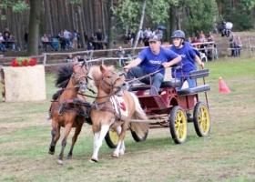 Zawody konne w Wieleniu