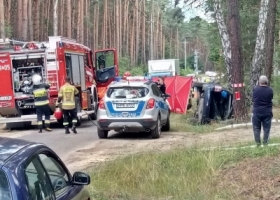 Wypadek samochodowy w Radzyniu