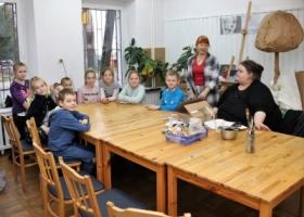 Trzeci dzień ferii zimowych w Domu Kultury w Sławie