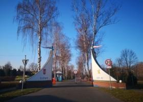 Zakaz wstępu na teren SCKiW
