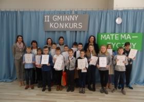II Gminny Konkurs Matematyczny