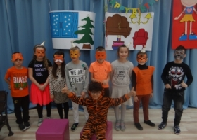 Urodziny Tygryska, Kotki i choroba Misia - czyli przedstawienie w S.P. Happy House