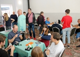 Zakończenie Międzynarodowego Kongresu Brydża Sportowego w Sławie
