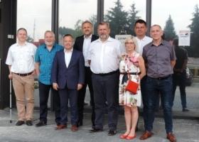 Zarząd Lubuskiego Forum Wodociągowego w Sławie