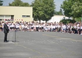 Zakończenie roku szkolnego w Szkole Podstawowej w Sławie
